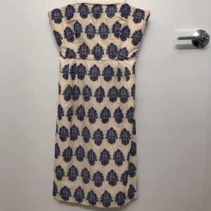Strapless Embroidered J. Crew Dress